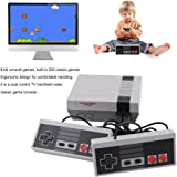Homgrace 500 Games Built-in Game Console Mini Video Game Machine Childhood Dual Control (500 games)