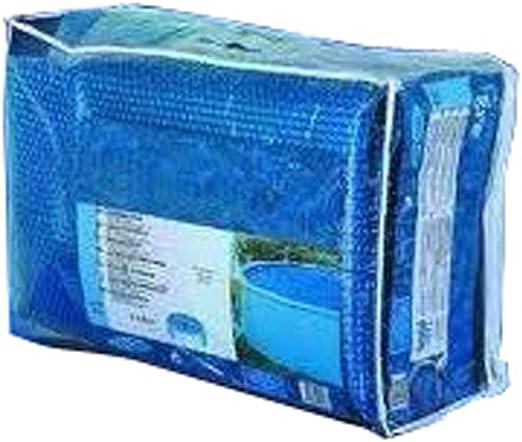 Gre CPROV505 - Cobertor de Verano para Piscina Ovalada de 500 x 300 cm, Color Azul: Amazon.es: Jardín