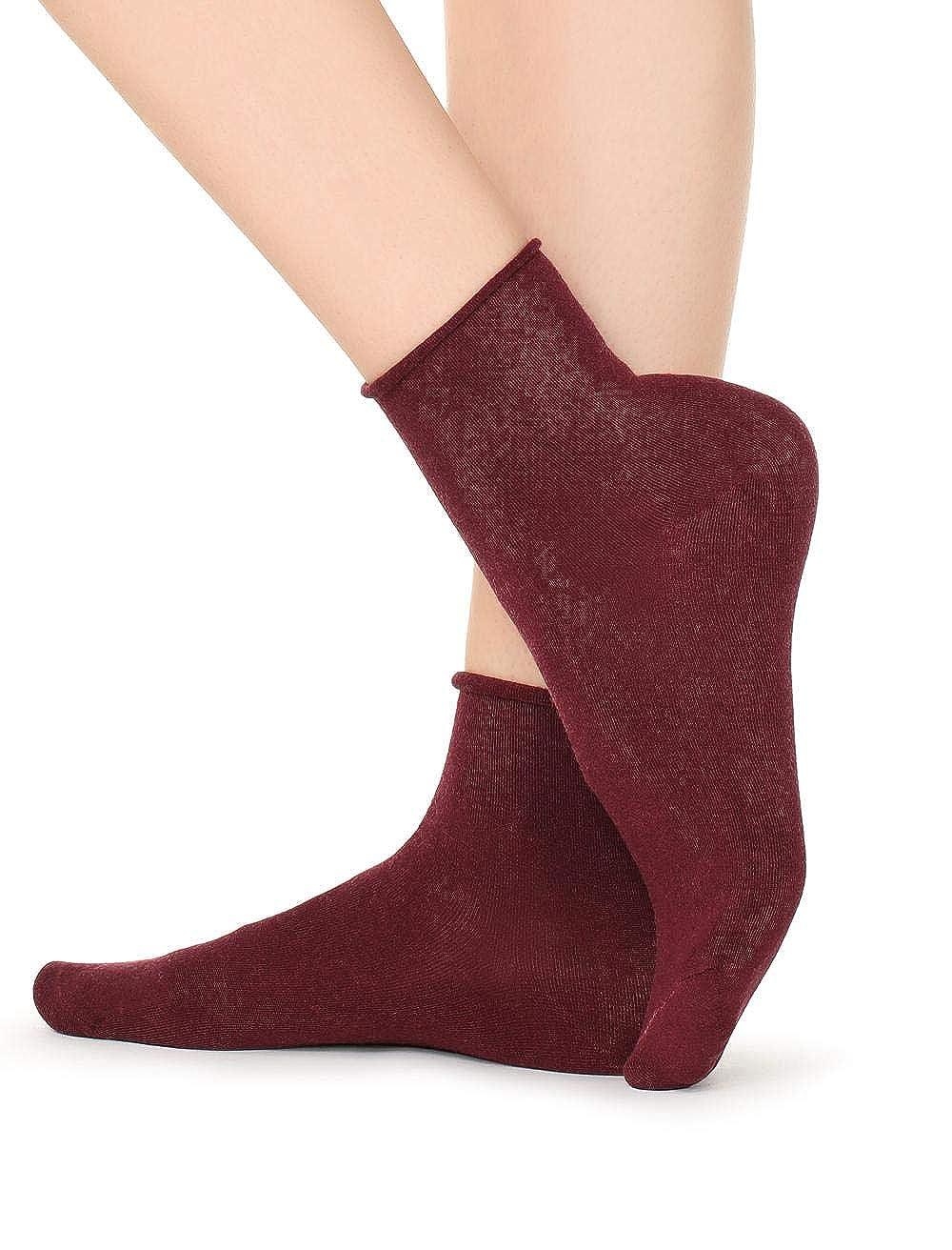 Calzedonia Damen Socke aus Kaschmir ohne Bündchen