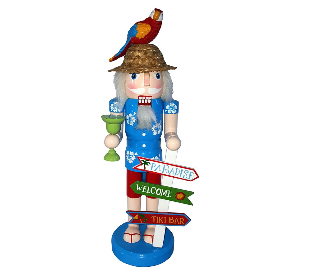 Santa's Workshop 70874 Welcome To Paradise Nutcracker, 14'' ,,