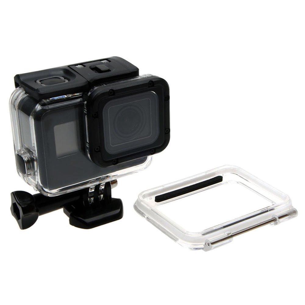 meijunter 60 M防水ケースfor GoPro Hero 6 / Hero 5ブラックカメラ水中ハウジングダイビング中空バックカバー保護シェルケースwithアクセサリー   B0794PKKFG