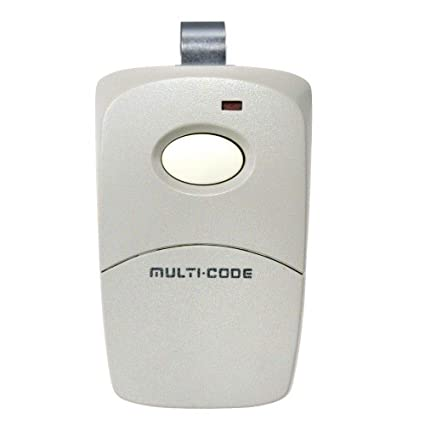 Multi-Code 3089 10 Code Switch Visor Gate Garage Door Remote MultiCode 308911