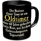 Fun Tasse mit Spruch Oldtimer zum 60. Geburtstag - 60 Jahre