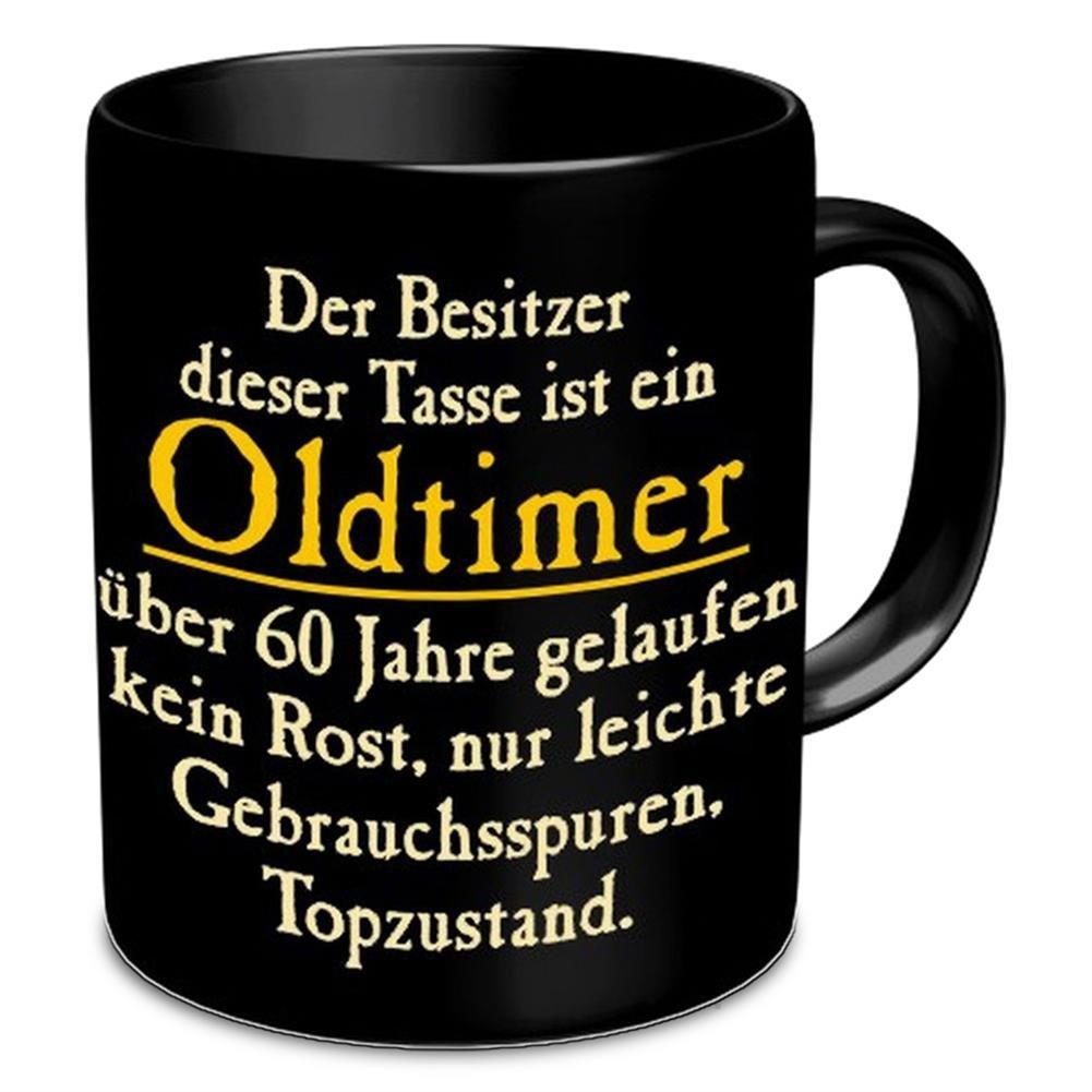 Oldtimer 60 Rahmenlos 914742 Funtasse Fun Spa/ßtasse mit Aufdruck