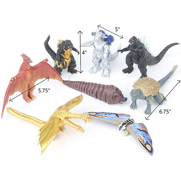 Oliasports 10Pcs Mini Dinosaur Toys Action Figure 10mini
