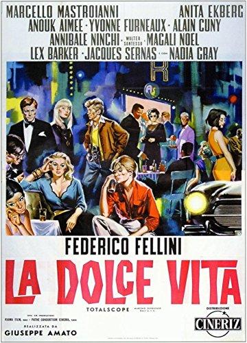 27 x 40 La Dolce Vita Movie Poster