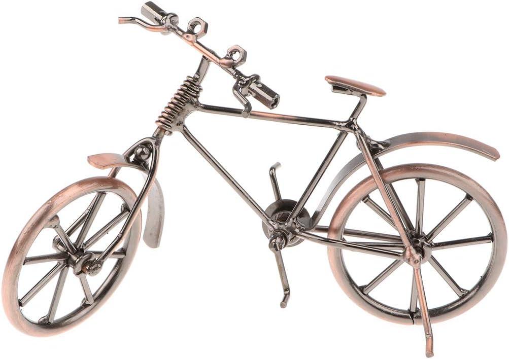 Figura de Bicicleta Metal en Miniatura Obra de Metalistería Juego ...