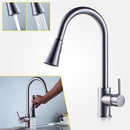 360°Miscelatore rubinetto cucina,Auralum® Moderno Miscelatore ...