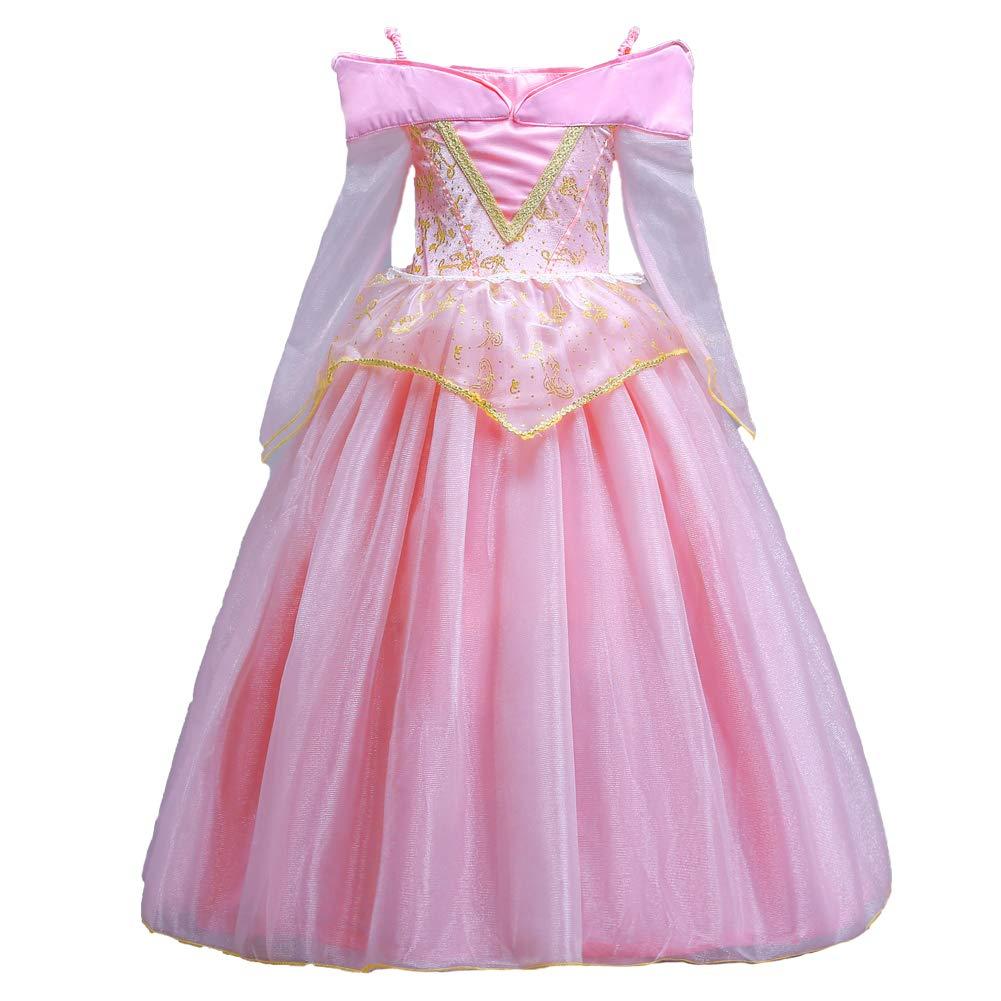 0cc01db51b80f ELSA   ANNA® Filles Reine des Neiges Princesse Partie Costumée Déguisements  Robe de Soirée Aurora