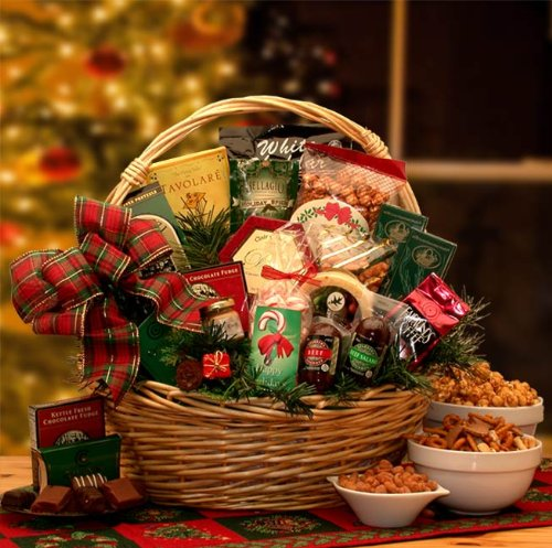 Holiday Celebrations Holiday Gift Basket -Large by Organic Stores