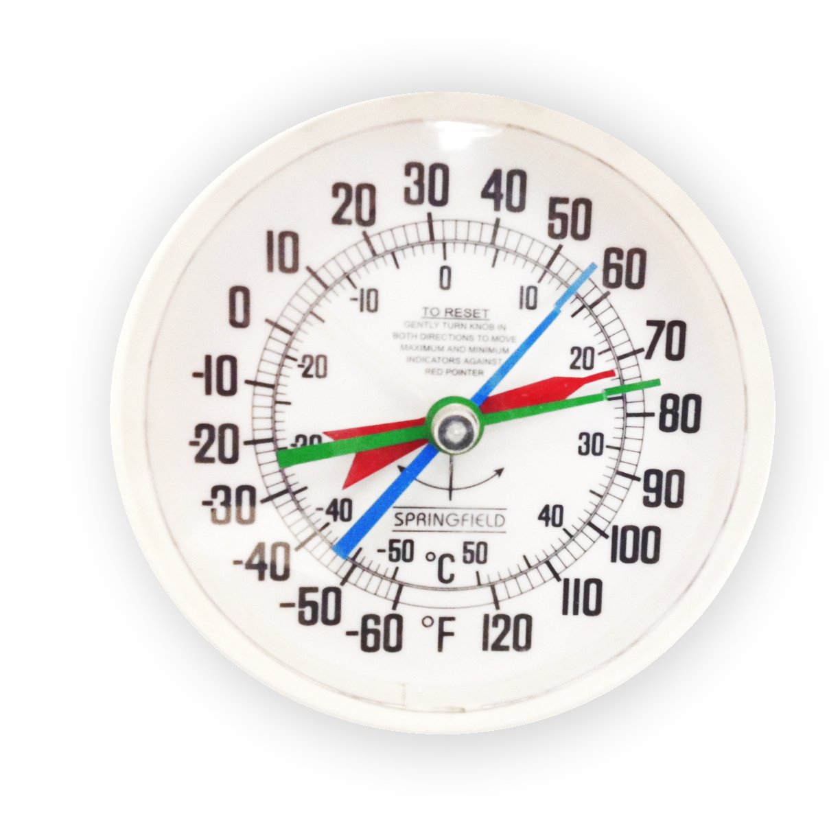 Headwind Consumer Products 840-0057 EZREAD Minimum/Maximum Thermometer