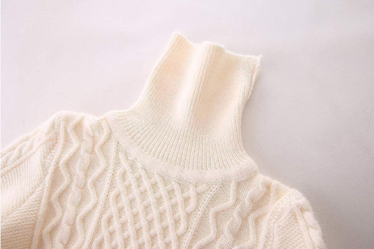 Mud Kingdom Super Soft Boys Turtleneck Sweaters