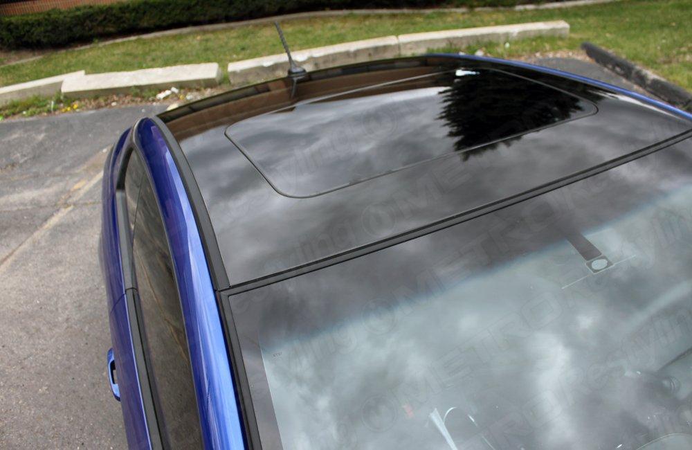 3M 1080 G12 GLOSS BLACK 3in x 5in (SAMPLE SIZE) Car Wrap Vinyl Film by 3M (Image #1)