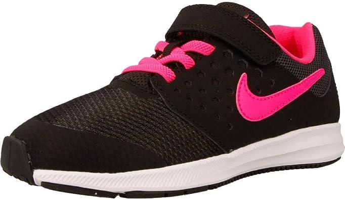 Nike 869975-002, Zapatillas de Trail Running para Niñas, Negro (Black/Hyper Pink-White), 31.5 EU: Amazon.es: Zapatos y complementos