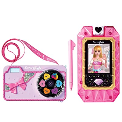 Secret Jouju Selfie Cam Camera for Kids Toy Cellphone for Children. Item and Manuel all in Korean.: Toys & Games