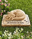 CT DISCOUNT STORE CTD Store Pet Memorial Stones -Keep the memory of a lost pet alive in your heart with this Pet Memorial Stone (CAT)
