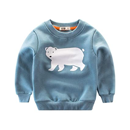 831a03334 Amazon.com   AutumnFall 2018 Baby Girls Boys Sweatshirts Winter ...
