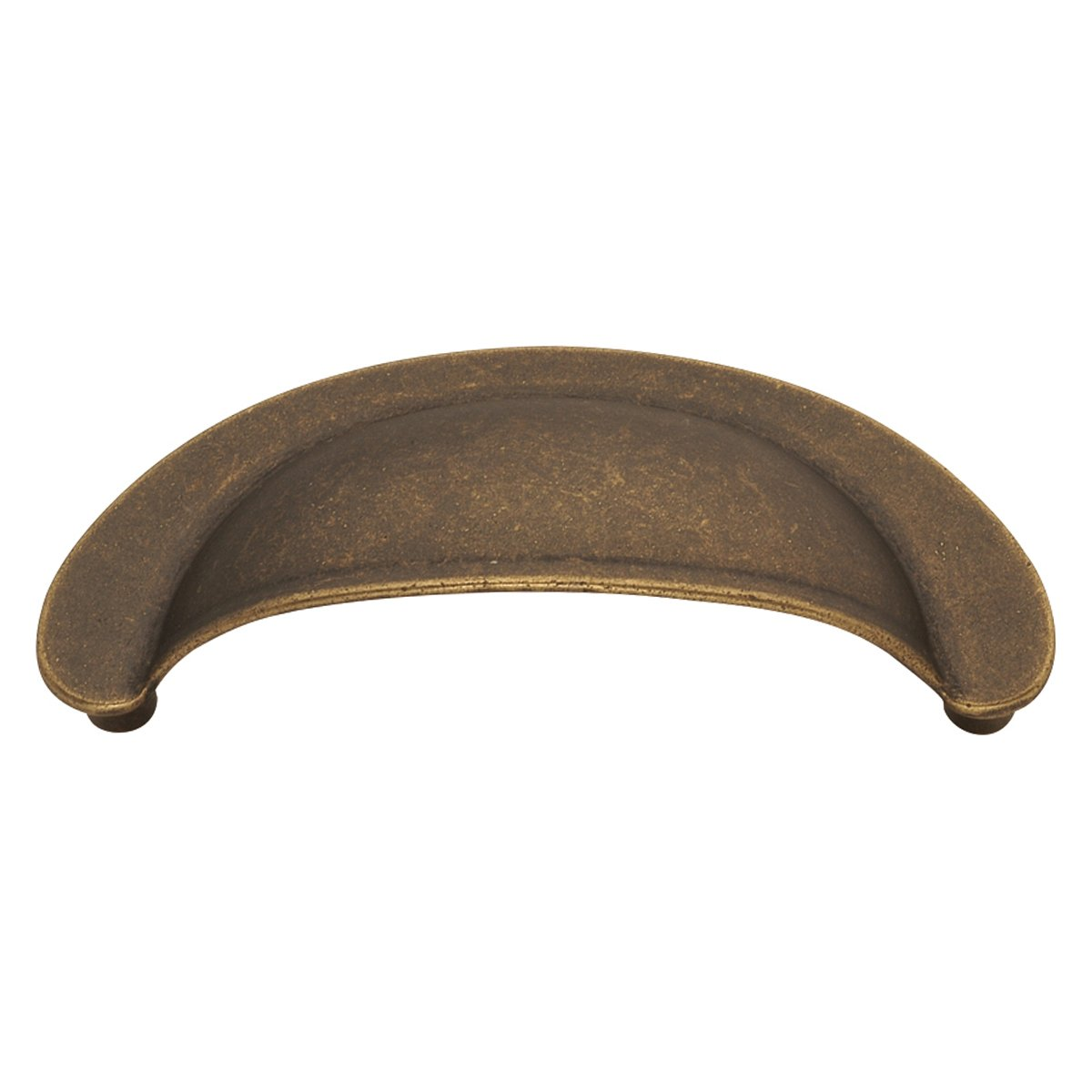 Hickory Hardware PA1021-WOA Oxford Antique Cup Cabinet Pull, 2.75-Inch, Windover Antique