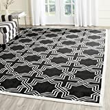 Safavieh Amherst Collection AMT413G Anthracite and Ivory Indoor/Outdoor Area Rug (9′ x 12′) Review
