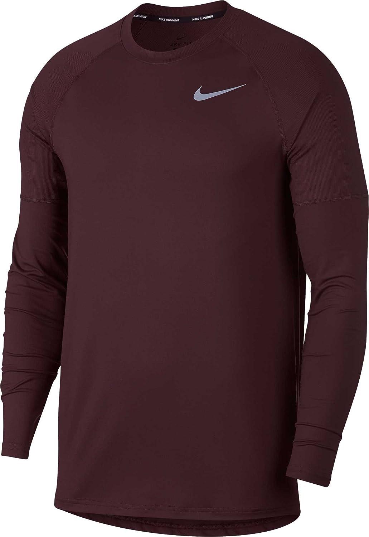 全国総量無料で [ナイキ] メンズ シャツ シャツ Nike Men's Element Men's Nike Crew Running Long Sle [並行輸入品] B07G32SP1R XXL, 生活雑貨なんでもアリス:a10e9508 --- arianechie.dominiotemporario.com