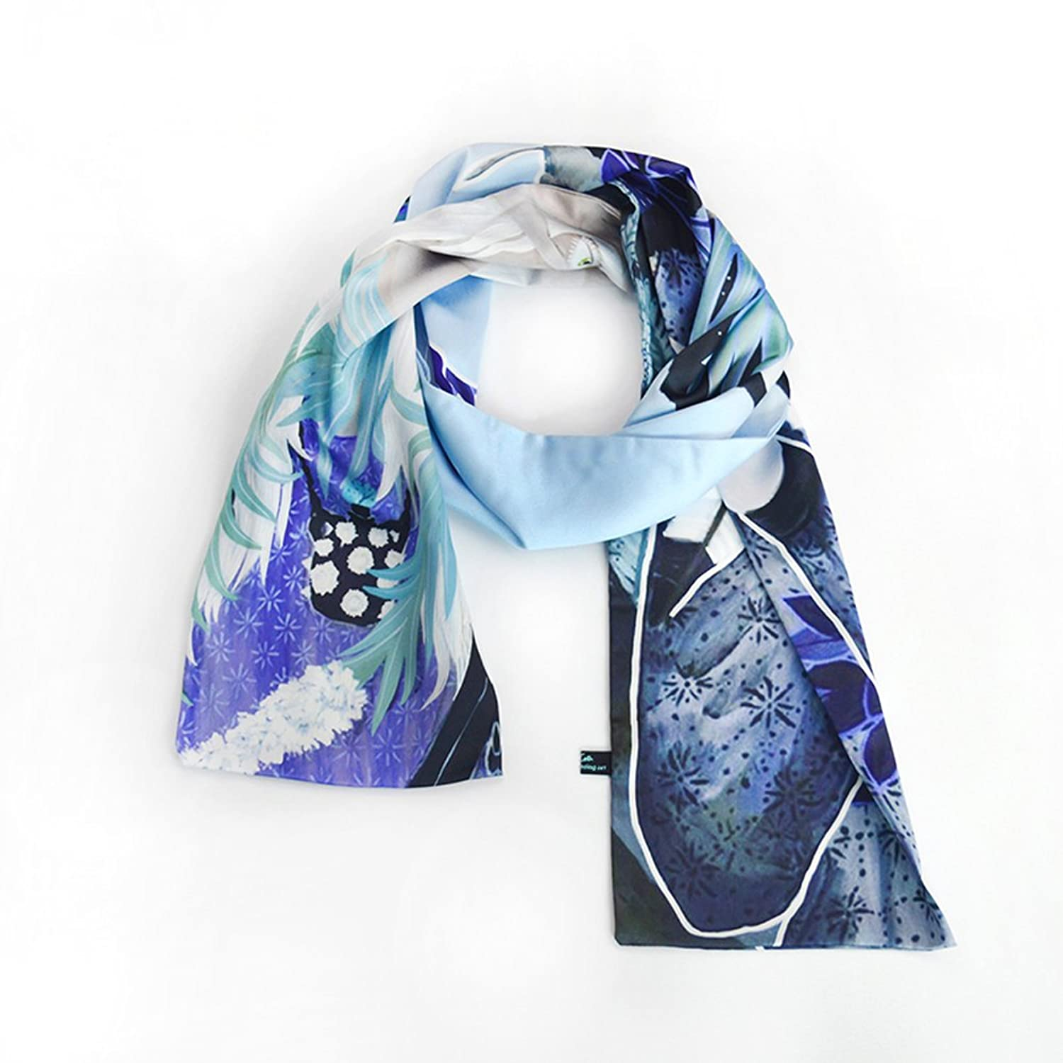Super Soft Luxurious Chiffon Classic Printing Scarf