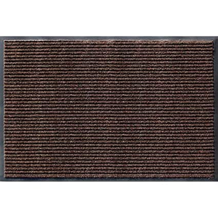 Attrayant Apache Mills Rib Commercial Carpeted Indoor And Outdoor Floor Mat, Cocoa  Brown, 2