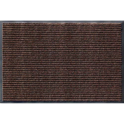Apache Mills (Rib Commercial Carpeted Indoor and Outdoor Floor Mat, Cocoa Brown, 2-feet by 3-Feet)