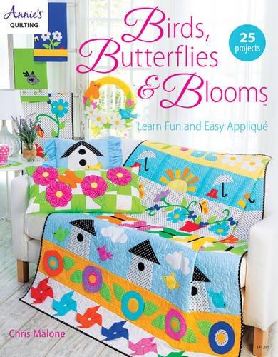 Birds, Butterflies, Blooms (Butterfly Patchwork)
