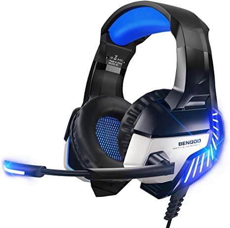 BENGOO Stereo Gaming Headset for PS4