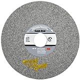 3M Scotch-Brite XP-WL Convolute Silicon Carbide Hard Deburring Wheel - Fine Grade - Arbor Attachment - 6 in Dia 1 in Center Hole - Thickness 1/2 in - 6000 Max RPM - 60452 [PRICE is per WHEEL]