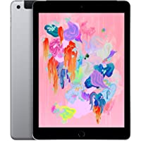 Apple iPad 9.7-inch (6th Gen) A1954 (GSM Unlocked + Verizon) - 32GB / Space Gray (Renewed)
