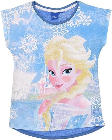 Frozen Bambina T Shirt Maniche Corte