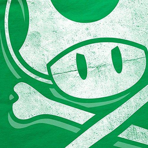 t Super Console Mario per A videogiochi World Toadskull shirt n Gioco bambini Skull T Green per 5wwxqfO