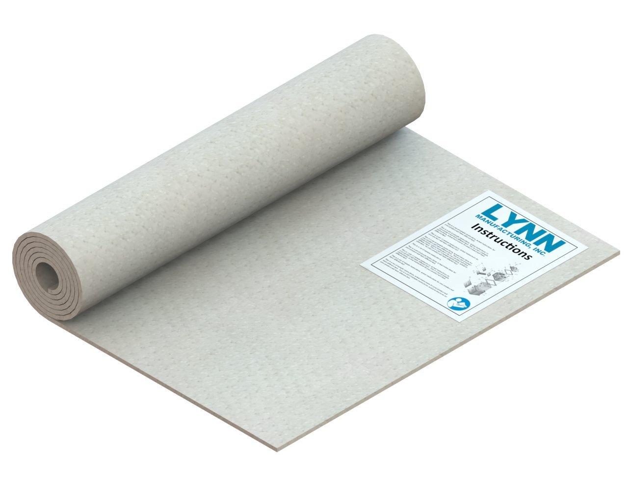 Kaowool 2300F Ceramic Fiber Blanket, 60'' x 24'' x 1/4'' by Lynn Manufacturing