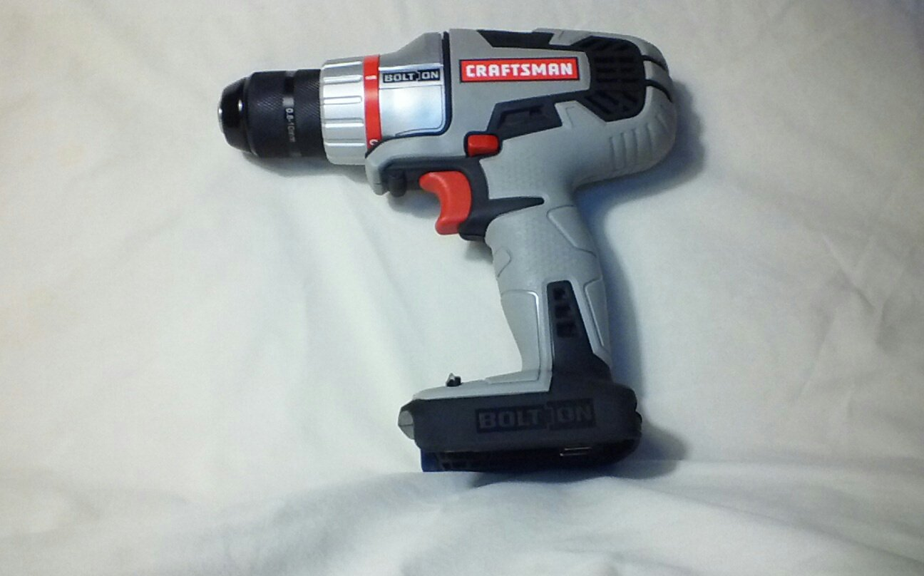 Craftsman Bolt On 20 Volt Max Lithium Ion Drill Driver 900.46133 Bare Tool, No Battery or Charger Included