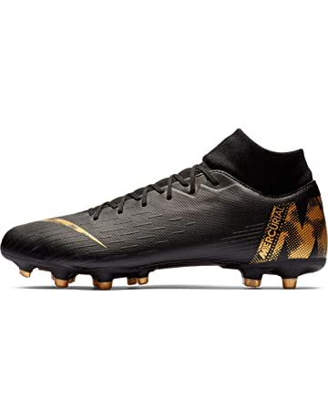 promo code 040ed 64a42 Nike Men s Superfly 6 Academy MG Multi-Ground Soccer Cleat, Black Metallic  Vivid