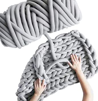 Amazon.com: Hilo de tejer para brazos, tejido a mano, hilo ...