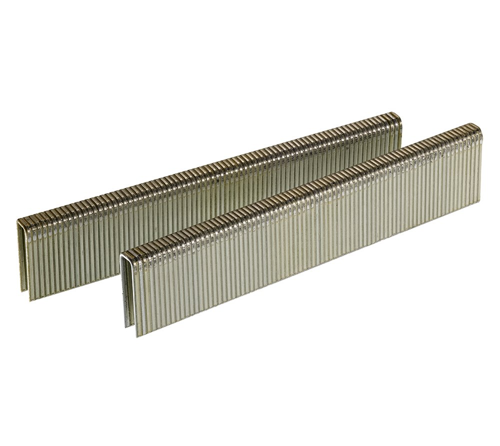 Senco L11BAB 18 Gauge by 1/4-inch Crown by 3/4-inch Leg Electro Galvanized Staples (5,000 per box) by Senco