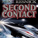 Second Contact Audiobook by Mike Resnick Narrated by Danny Campbell
