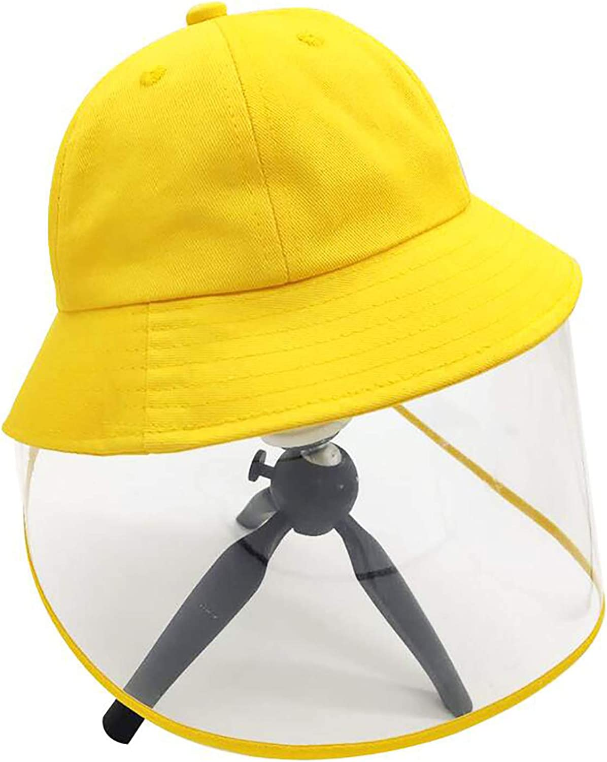 OneCut Removal Kids Fisherman Hat for 6-8 Years Old Children Black