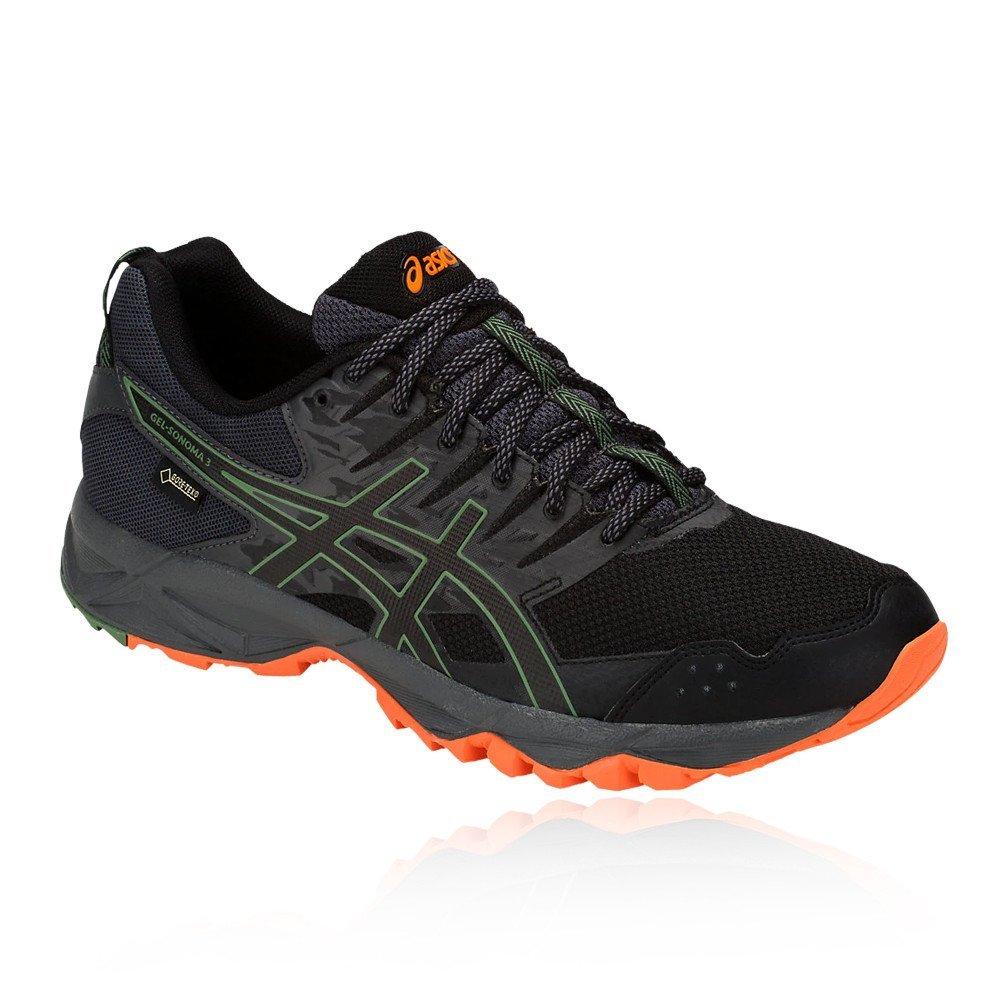 Asics Gel-Sonoma 3 G-TX, Zapatillas de Deporte para Hombre 42 EU|Negro (Black/Dark Grey 002)