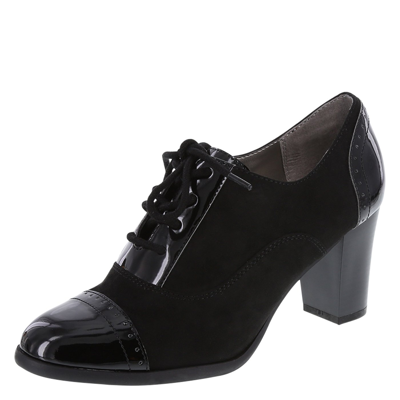 dexflex Comfort Women's Black Kara Oxford Pump 6.5 Regular