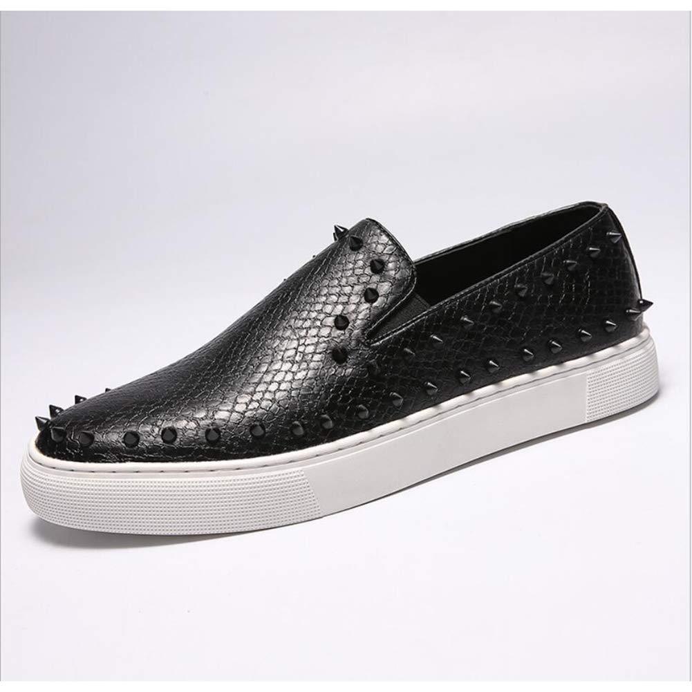 Zapatos/Mocasines y Slip-Ons con Punta de Hombre Zapatos de conducción/Zapatos de Plataforma/Zapatos con Tachuelas/Zapatillas Low-Top de Confort 41 EU|Un