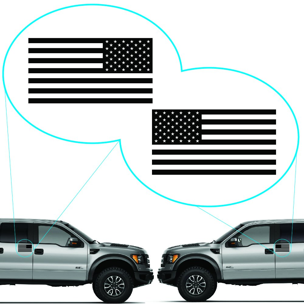 Amazoncom American Flag United States Decal Sticker For Car - Boat decalsamerican flag boat decals usa flag boat graphics xtreme digital