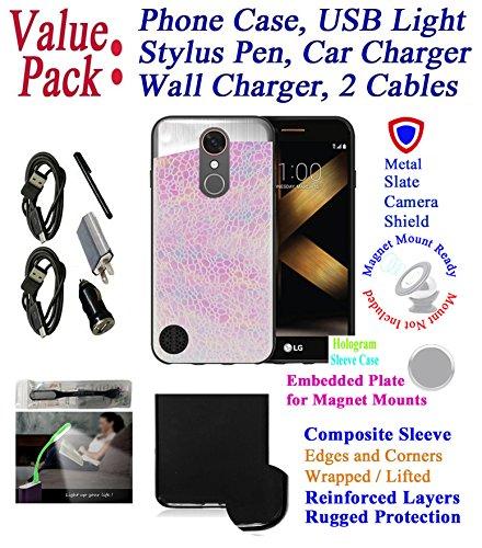 """Value Pack + for 5.3"""" LG K20 K20 + PLUS K20 V LV5 Case Sleev"""