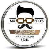 Mo Bro's - Beard Balm 15ml Tin Made in England - 6 Different Scents (Classic Cedarwood)