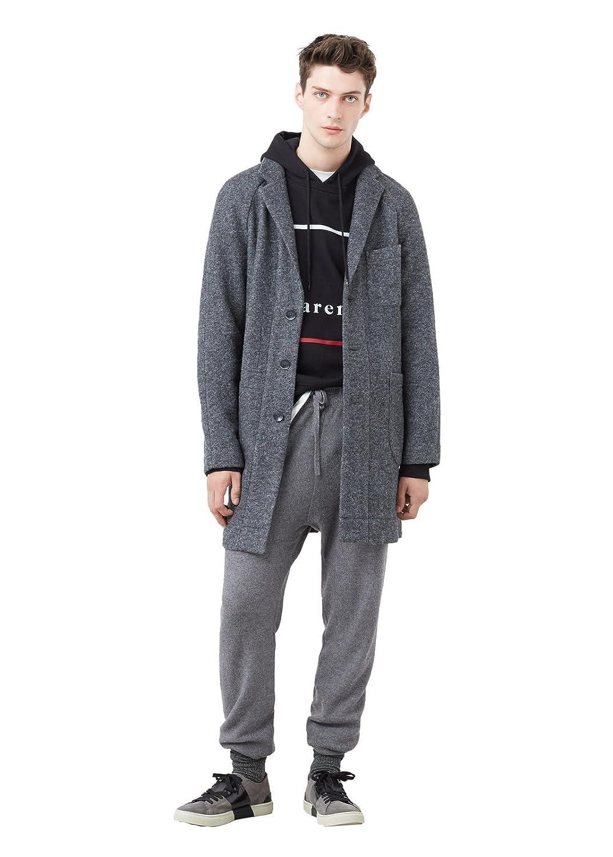 MANGO MAN - Lässiger mantel aus Jacken woll-mix