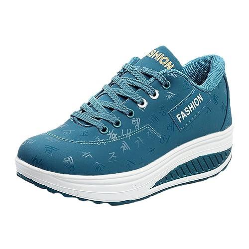 l'ultimo 63cf3 5a920 beautyjourney Scarpe da Ginnastica donna Scarpe sneakers estive eleganti  donna scarpe da corsa donna Sportive donna scarpe donna stringate - Donna  ...