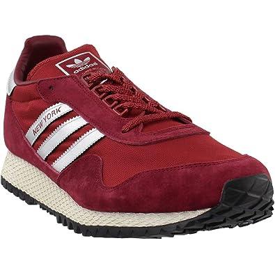 on sale 42a12 f0afb adidas BB1189 Men New York BURGU RED
