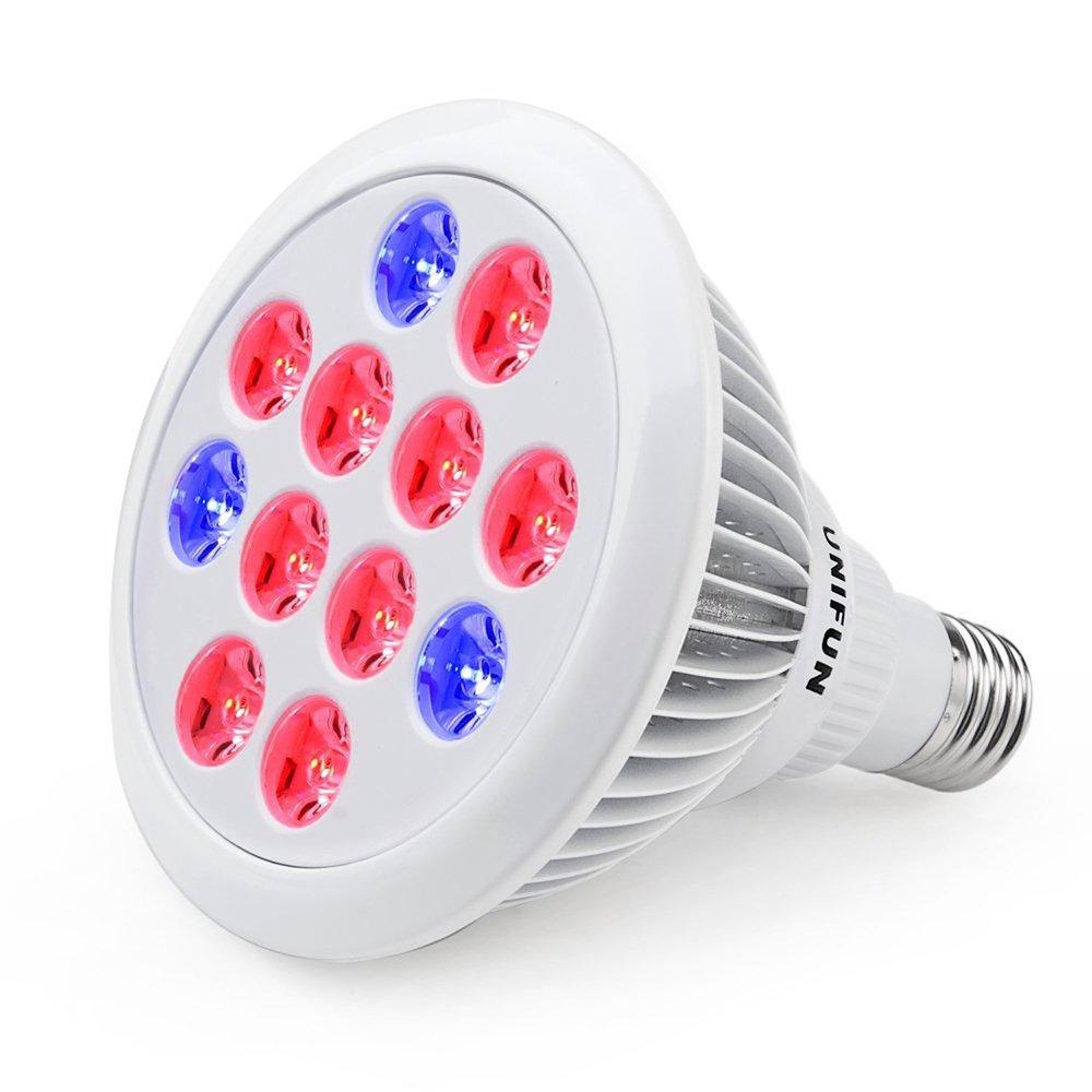 LED Grow Light for Indoor Plants,YGROW 100W Growing Lamp Light Bulbs 100W